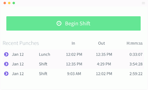 Time & Attendance Management | Time-Clock | PurelyHR
