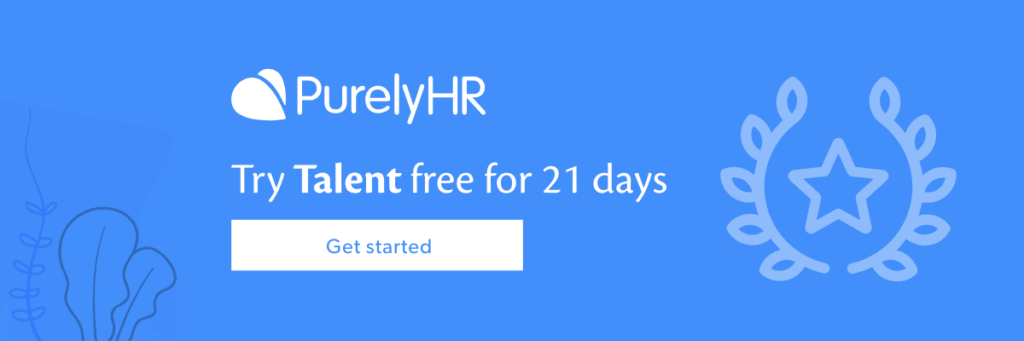 Click here to try the Talent module free for 21 days